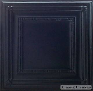Tin Ceiling Design 504 Painted 103 Satin Black