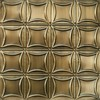 Tin Ceiling Design 201 Antique Plated Brass