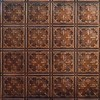 2x4 Antique Plated Tin Ceiling Design 210