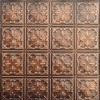 Tin Ceiling Design 210 Antique Plated Copper